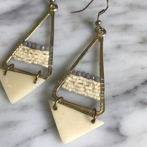 Noonday Collection Meru earrings